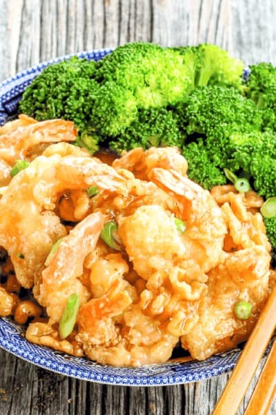 Paleo Honey Walnut Shrimp {Grain-Free, Gluten-Free & Dairy-Free}