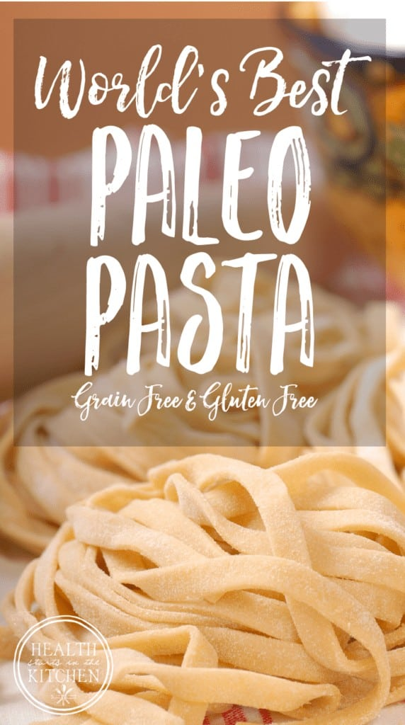 World's Best Paleo Pasta Dough {Grain-Free & Gluten-Free}