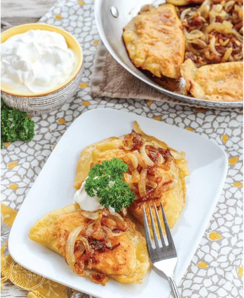 Gluten-Free, Grain-Free Potato and Cheese Pierogies