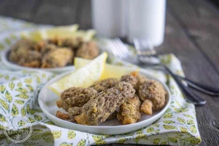 Breaded Morel Mushrooms {Gluten Free}