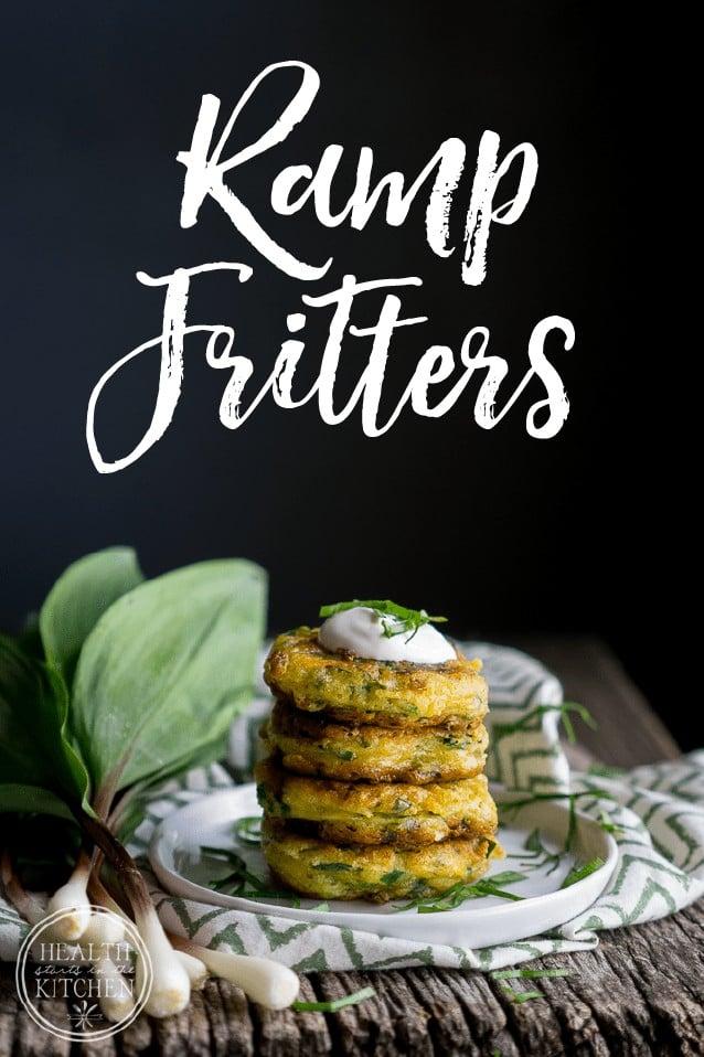 Ramp Fritters (aka Wild Leeks)