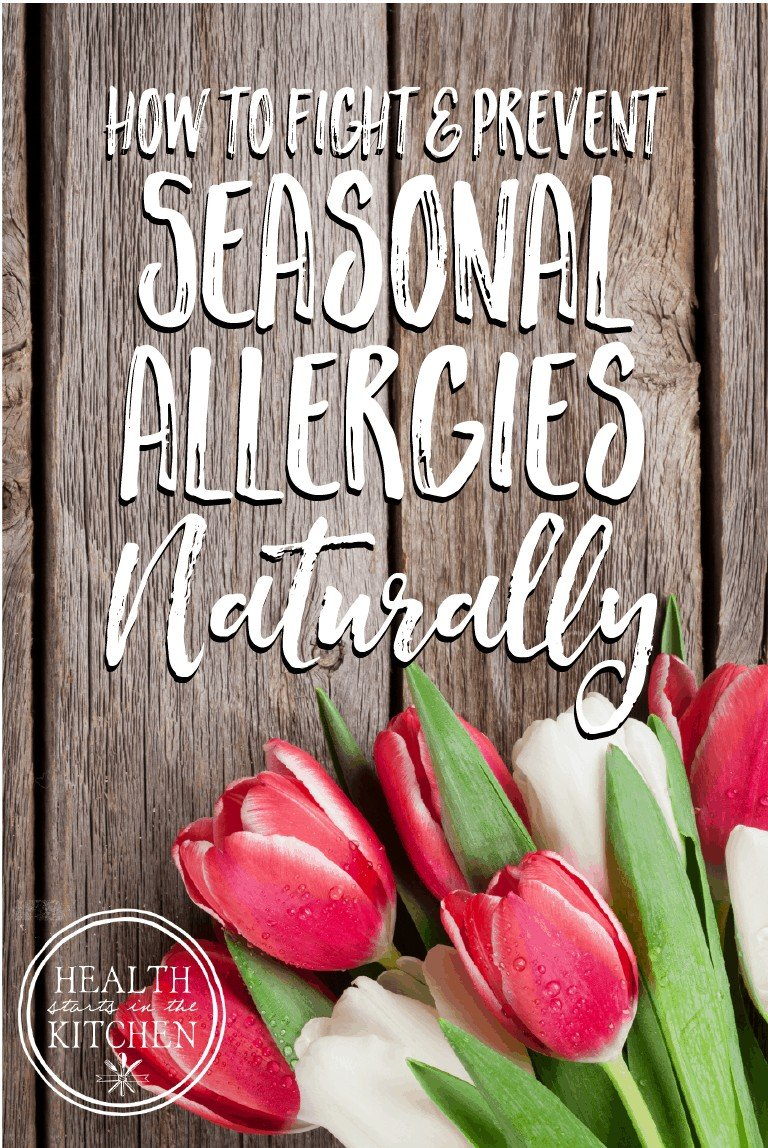 How to fight & Prevent Seasonal Allergies Naturally