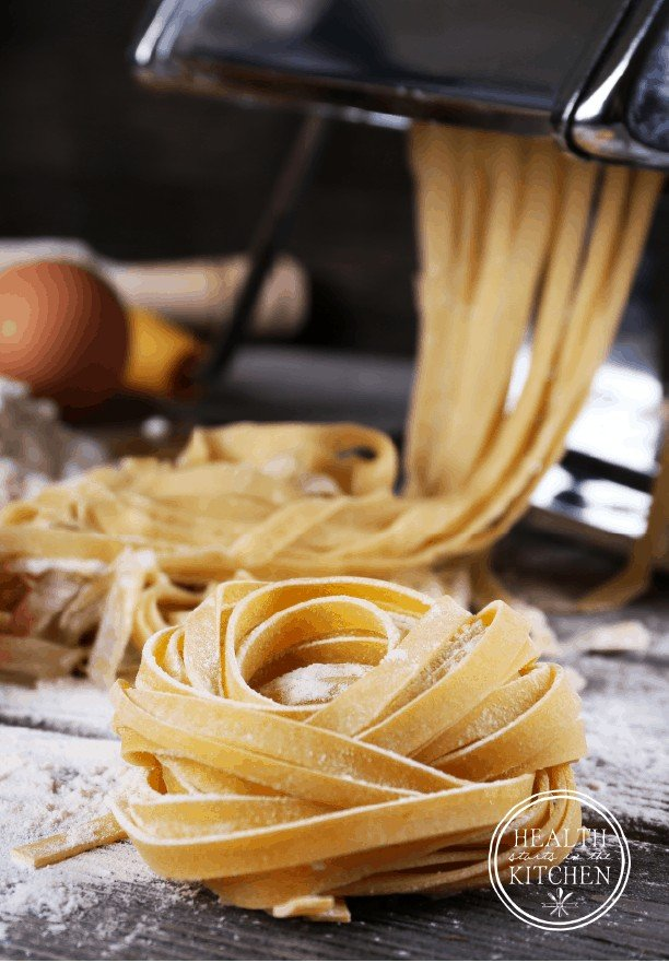 Cassava Flour Pasta Dough {Paleo & Nut-Free} - Perfect for 21DSD, Whole30 and Plant Paradox diets