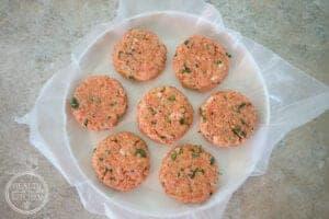 Cilantro Lime Salmon Burgers {Paleo, Gluten-Free & Lectin-Free}