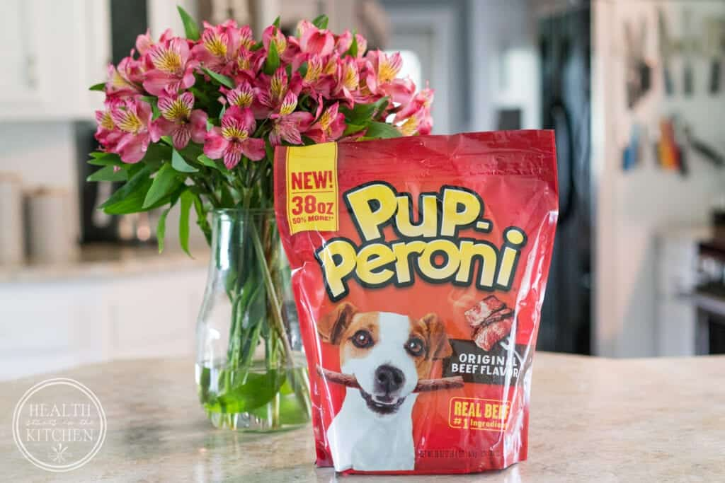 Shower Your Doggie with Love with Pup-Peroni