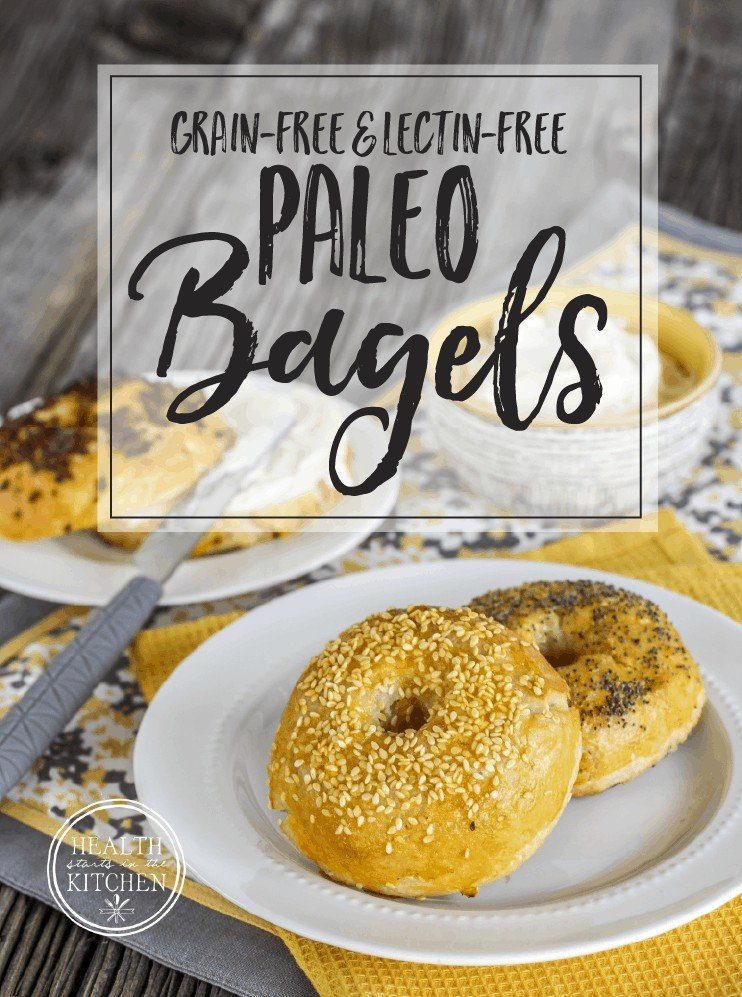 Paleo Bagels {Grain-Free, Lectin-Free & Plant Paradox Friendly}
