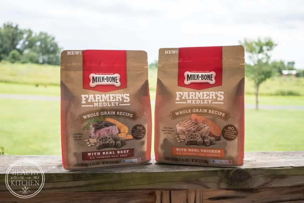 Pampering your Pooch with Milk-Bone Farmer's Medley Dog Treats