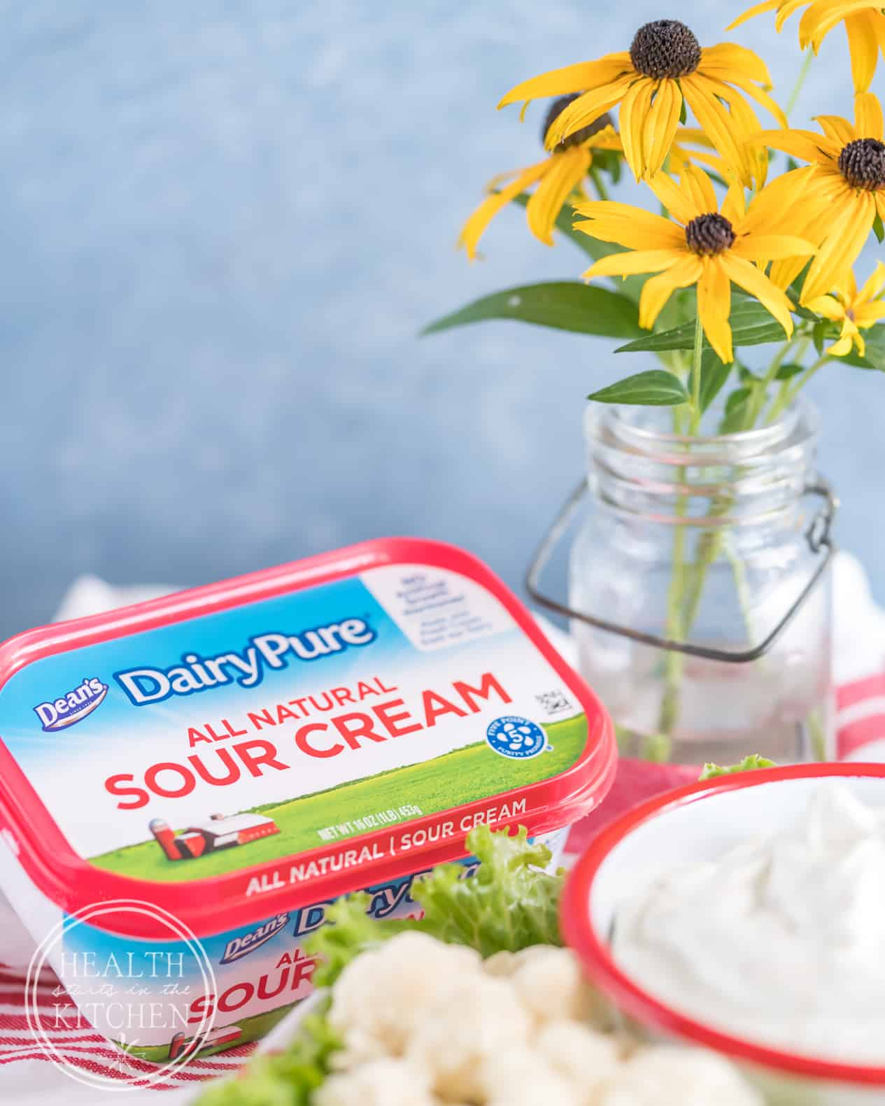 The Best Ranch You'll Ever Eat with Dean's Dairy Pure Sour Cream