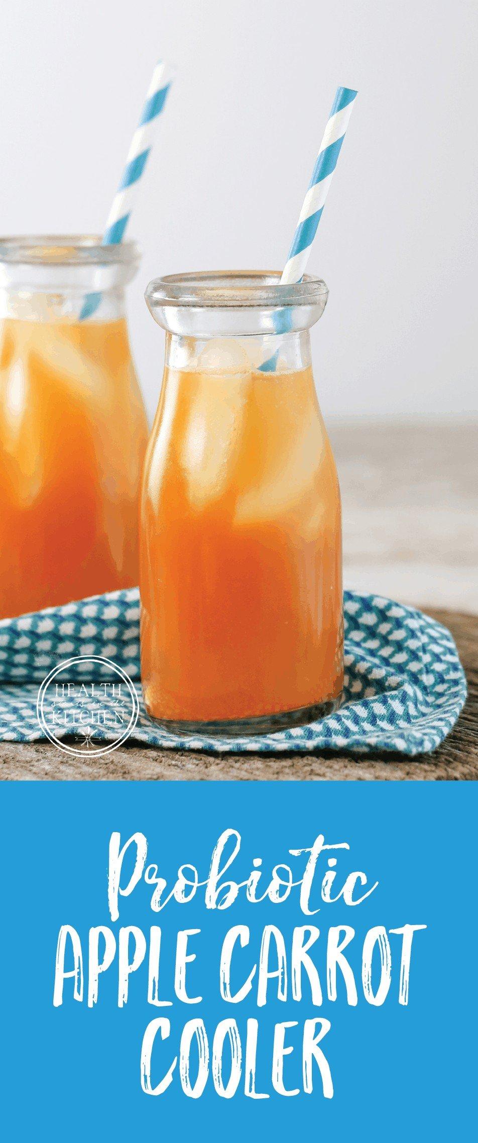 Probiotic Apple Carrot Cooler