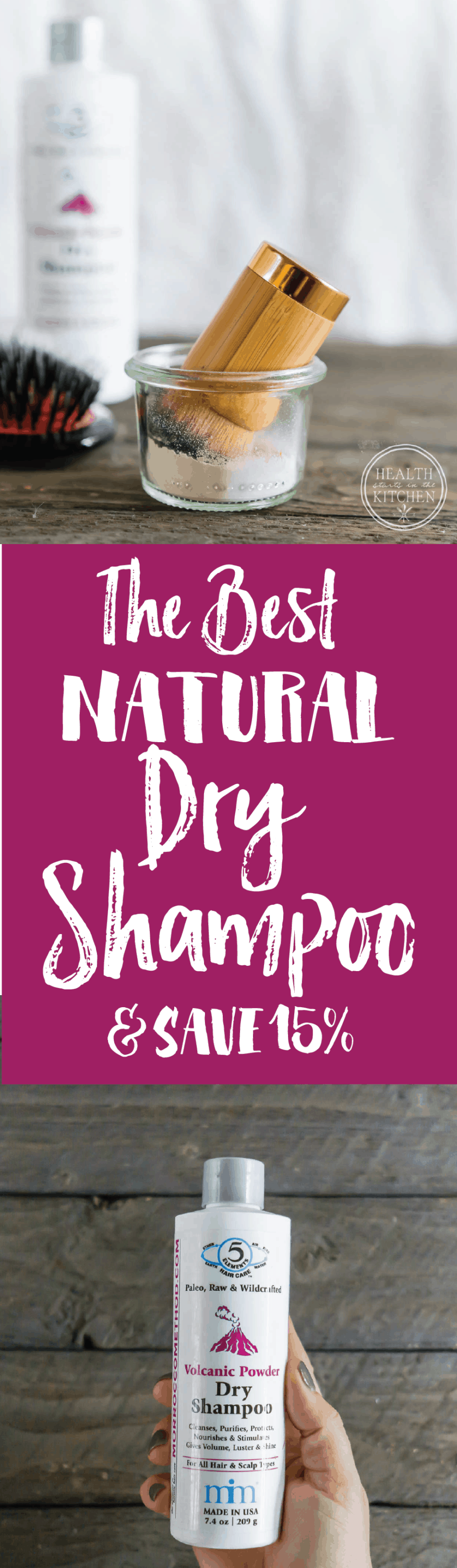 The Best Natural Dry Shampoo {and save 15%}