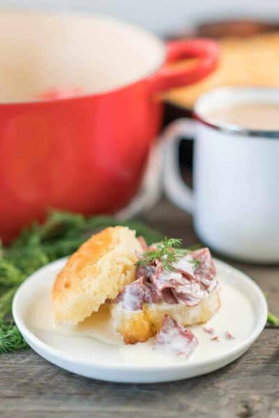 Low Carb Keto Cream Chip Beef {Gluten-Free}