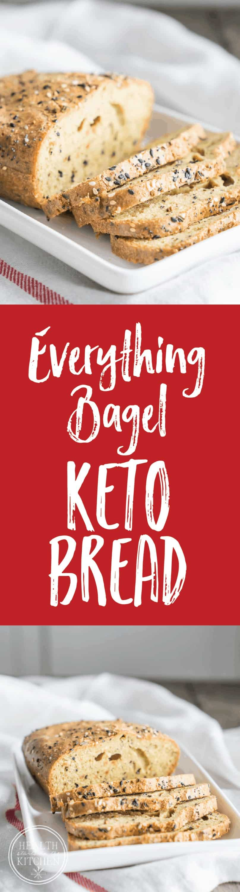 Everything Bagel Low-Carb Keto Bread