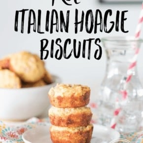 Low-Carb Keto Italian Hoagie Biscuits