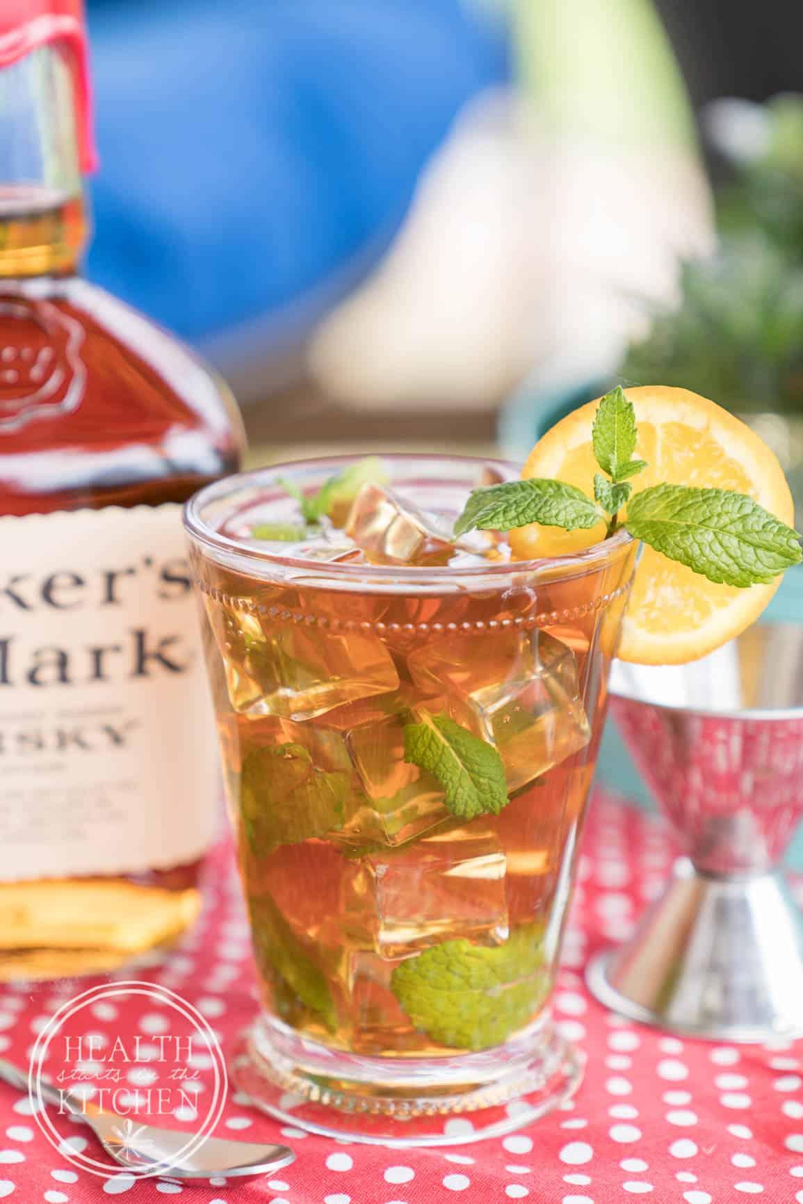 Skinny Mint Tea Julep {Keto & Low-Carb}