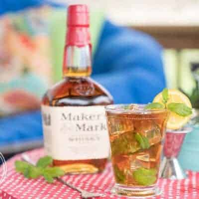 Skinny Mint Tea Julep {Keto & Low-Carb}