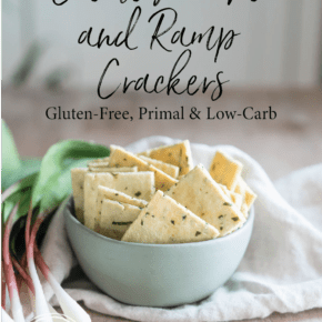 Creme Fraiche Ramp Crackers pin