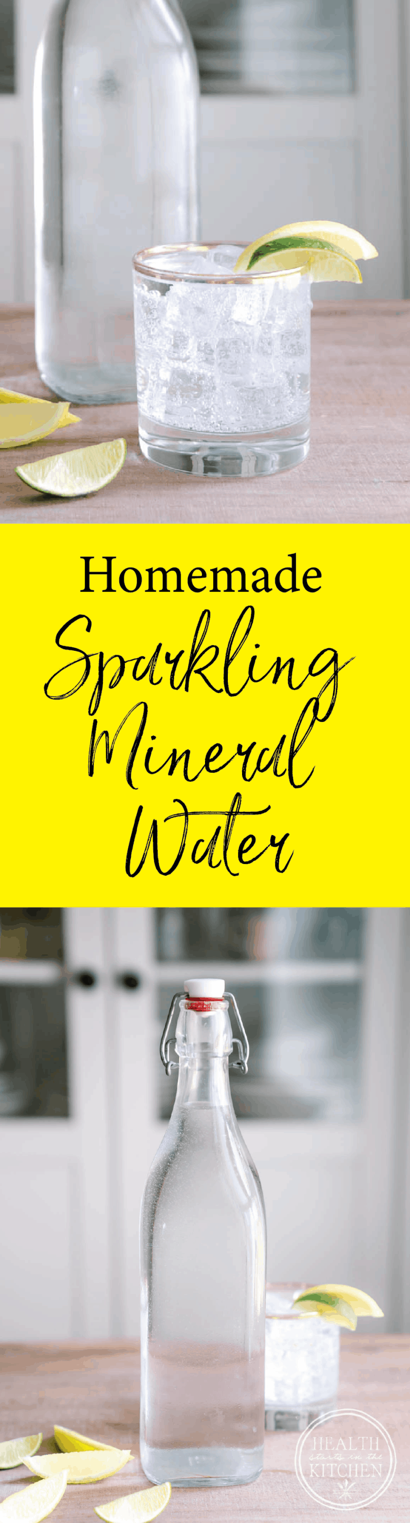 Homemade Sparkling Mineral Water