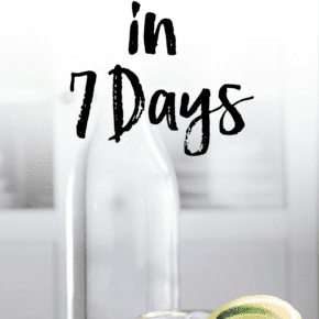 How I lost 20 pounds in 7 Days