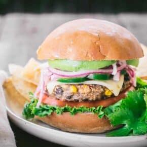 The Ultaimate Vegetarian Burger