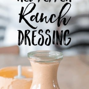 All the flavors of ranch dressing, only kicked up a notch with a smokey red pepper PUNCH! My Homemade Keto Roasted Red Pepper Ranch Dressing and Dip makes salads and veggies more enjoyable to eat.And it's totally HEALTHY made with real food ingredients and only 2g carbs per serving!