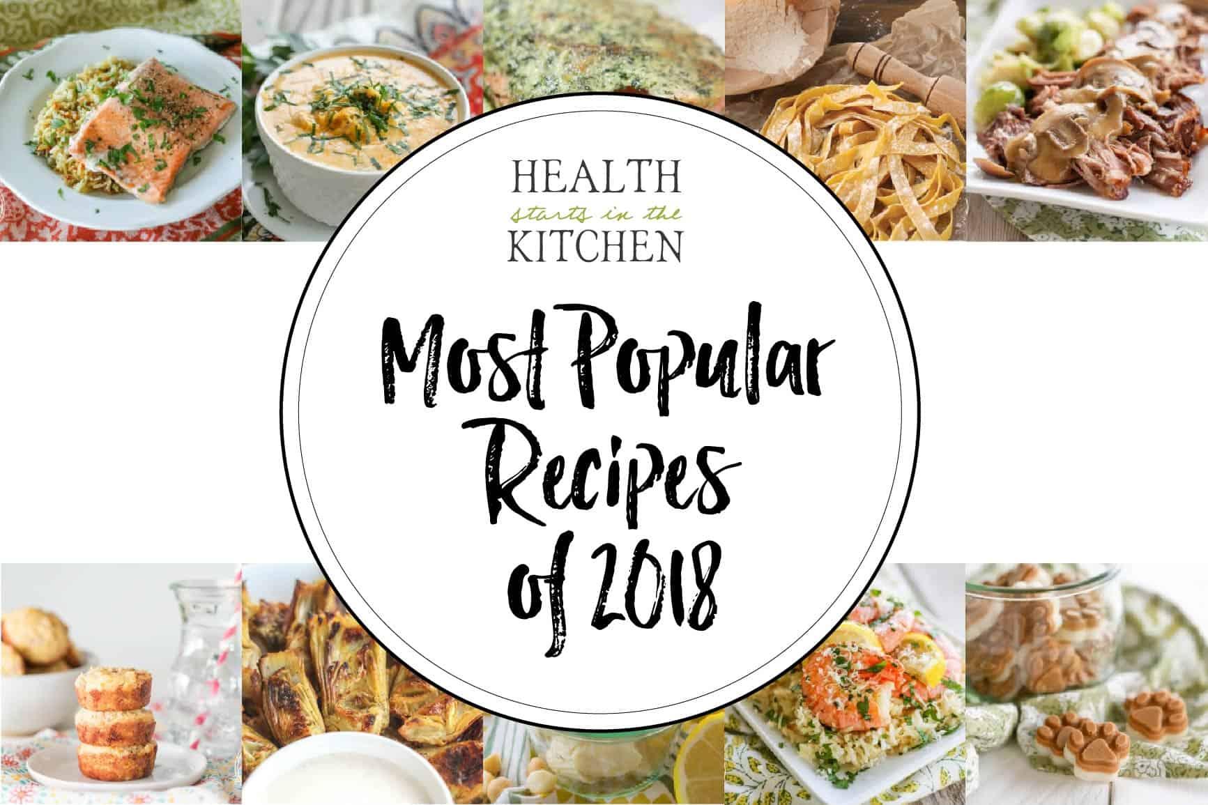 The Top 10 Most Popular Recipes at HealthStartsintheKitchen.com