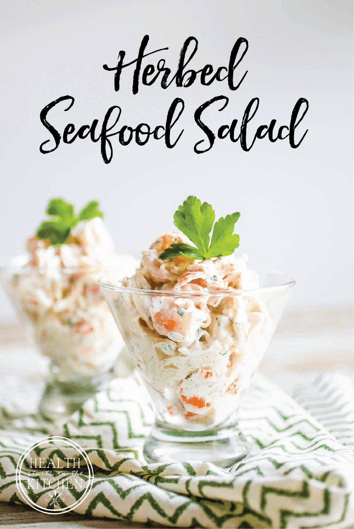 Gluten-Free Herbed Seafood Salad