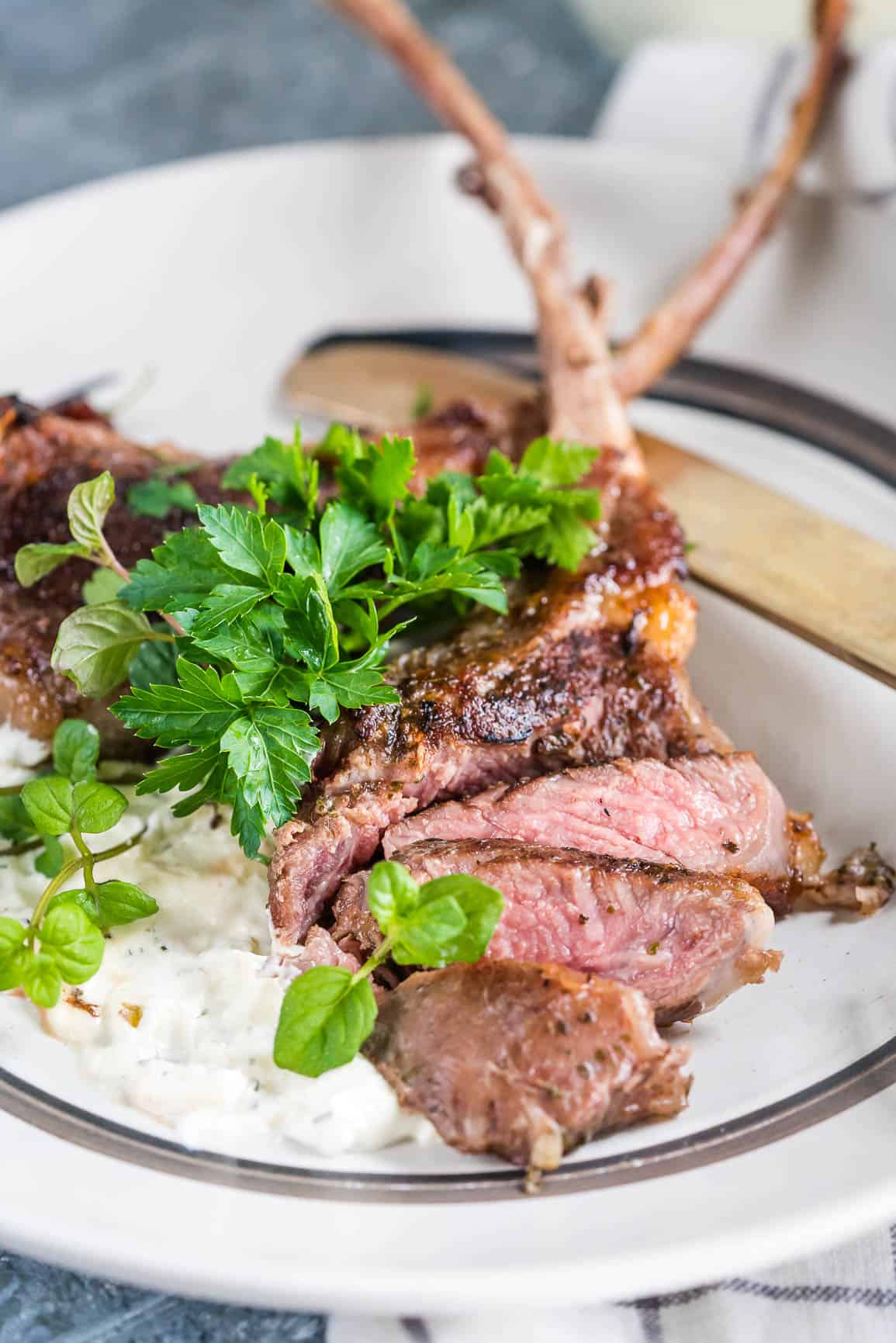 Always Perfectly Cooked Sous Vide Lamb Chops {Keto Carnivore}