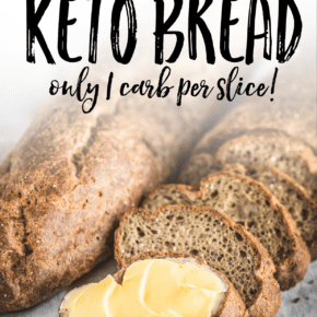 The Best Easy Keto Bread made with Psyllium Husk - Only 1 Net Carb Per Slice!