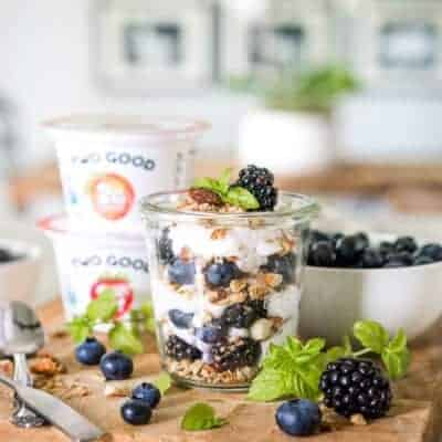 Keto Friendly Low Carb Breakfast Yogurt Parfait