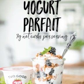 Keto Low Carb Breakfast Yogurt Parfait Yogurt Parfait