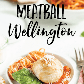 Tender, juicy meatballs wrapped in puff pastry served with marinara sauce make a delicious main dish or appetizer to a dinner party. With only 3 ingredients you'll impress your family and friends with a simple, yet elegant dish.