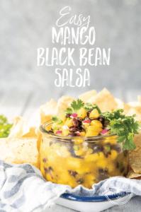 Easy Mango Black Bean Salsa Salad Recipe