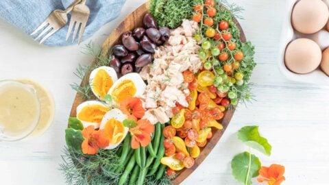 Keto Tuna Salad Niçoise Recipe