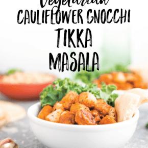 Vegetarian Cauliflower Gnocchi Tikka Masala Recipe