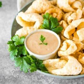 Keto Creamy BBQ Horseradish Dip