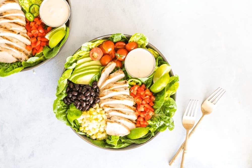 Southwest Chipotle Ranch Chicken Salad