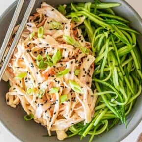The Best Spicy Crab Kani Salad Recipe {Gluten-Free}