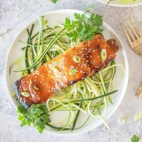 Keto Grilled Firecracker Salmo