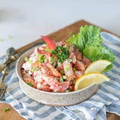 Keto Lobster Roll Salad Recipe
