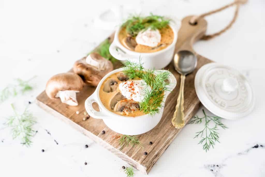Creamy Hungarian Mushroom Soup Recipe {Keto & Gluten-Free}